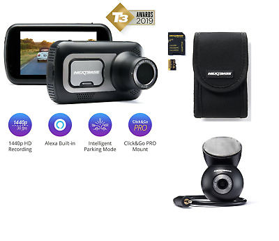 16GB SD Card and case included Hardwire Kit Nextbase 212G Full 1080p HD In Car Dash Cam Camera Bundle Kit with Mount