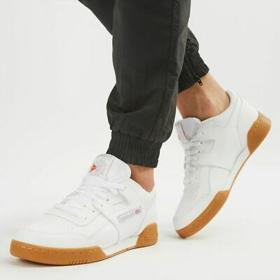 REEBOK CLASSIC WORKOUT Plus Iconic H Strap White Leather