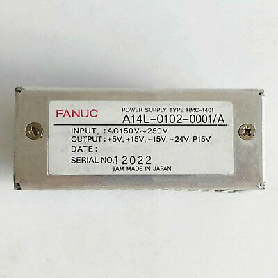 1PCS Used For Fanuc A14L-0102-0001/A Power Supply Tested in Good Condition#QW