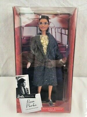 Rosa Parks Barbie Doll Signature Inspiring Women Series NEW Free Shipping