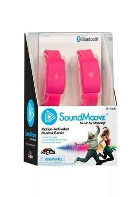 Sound moovz soundmoovz Black Boxed Brand New Wearable Motion Activated Bandes