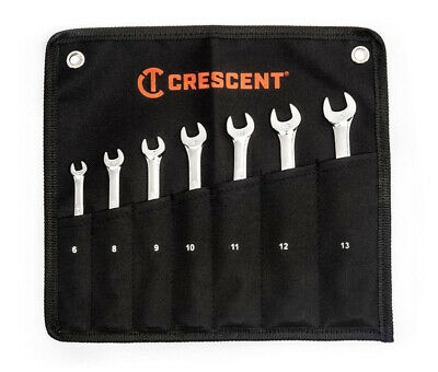 Crescent Metric Combination Wrench Set 7 Pc.