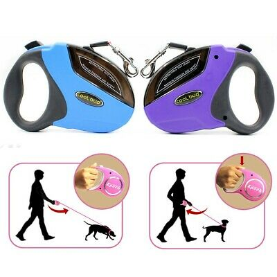 Retractable Dog Leash 16 ft Dog Walking Leash for Medium Large Dogs up to 110lbs