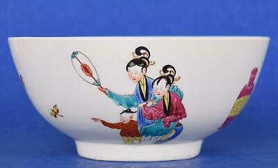 First Period Worcester Porcelain Chinese Family Bowl circa 1770 Dr Wall