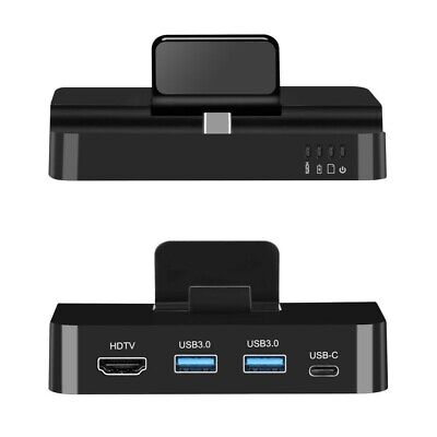 HDMI Station Desktop Extension Charging Dock Stand For Samsung Galaxy Note 9