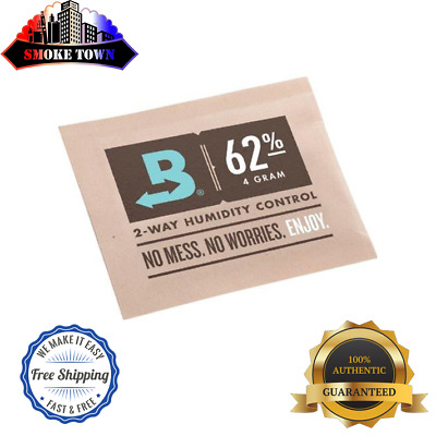 10-PACK BOVEDA RH 62% 4-GRAM Packets Humidity 2 Way Control Humidor + FREE SHIP!