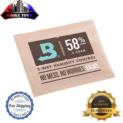 10-PACK BOVEDA RH 58% 4-GRAM Packets Humidity 2 Way Control Humidor + FREE SHIP!