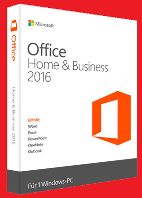 Microsoft Office 2016 Home and Business | 1PC | Windows | Multilingual | Full