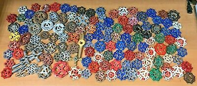 140pc Vintage Water Faucet ~ Barn Handles ~ Knobs Valves Steampunk~FREE SHIP