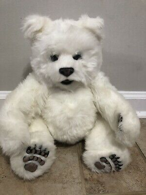 Fur Real Friends White Polar Bear Luv Cub by Tiger Works Interactive Toy