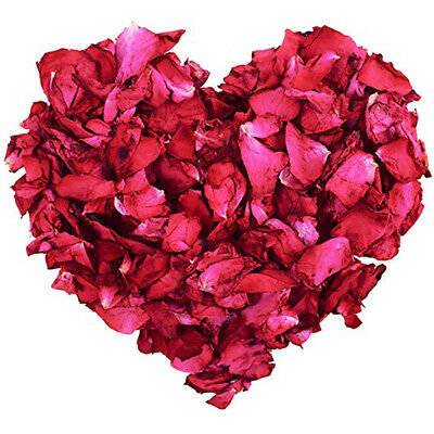 100g Natural Dried Rose Petals Real Flower Dry Red Roses For Foot Bath Body Hot