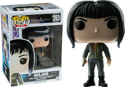Major with Jacket & Gun Exclusive POP Funko Ghost in the Shell