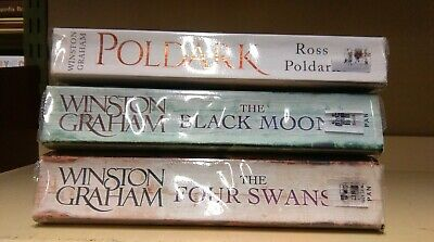Winston Graham: job lot collection of 3 adult fiction books