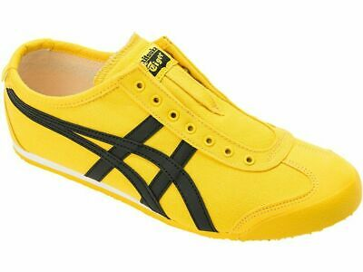 Onitsuka Tiger MEXICO 66 SLIP-ON 1183A746 Yellow × Black asics from Japan F/S