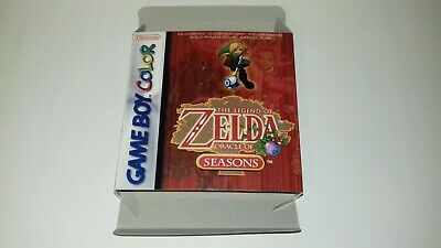 The Legend of Zelda Oracle of Seasons - Gameboy Color- PAL - Only Box