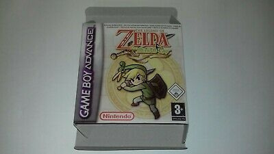 The Legend of Zelda The Minish Cap - Gameboy Advance - GBA - PAL - Only Box