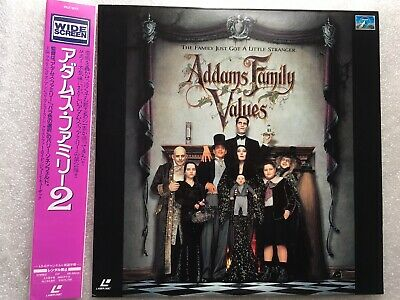 Addams Family Values Japanese NTSC LaserDisc LD OBI