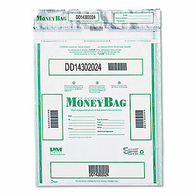 Triple Protection Tamper-Evident Deposit Bags, 15 x 20, Clear, 50/Pack 94190077