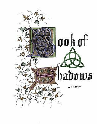 Charmed Book of Shadows 2000+ Replica Pages ONLY NO EXTRAS Downloadable link