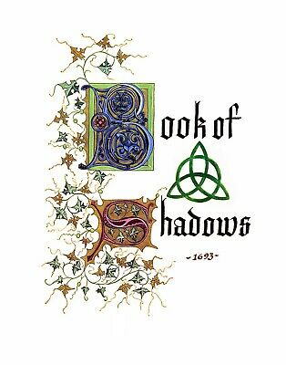 Charmed Book of Shadows on screen and mentioned Pages only