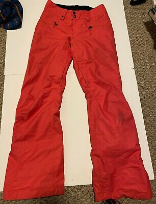 The North Face Womens Hyvent Winter Snow Ski Pants Pink Coral Size XS