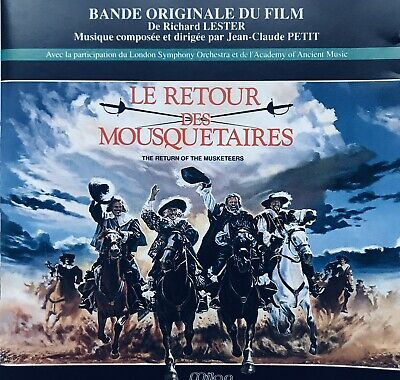 Petit - The Return Of The Musketeers - Soundtrack CD (rare 1989)