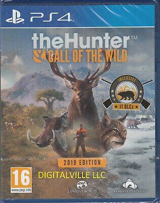 The Hunter Call of the Wild PS4 2019 Edition Open Box in mint condition