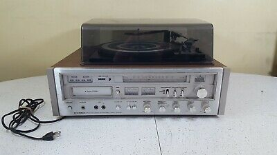 Pioneer H-R9000 8-Track Player Original Selector and Tuning Knob Part
