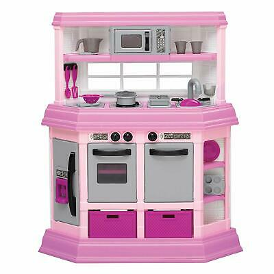 American Plastic Toys Kids Pink First Very Own Custom Kitchen Toy Set (Open Box)