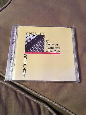 Omd Cd Architecture & Morality Excellent Condition Orchestral Manoeuvres Dark