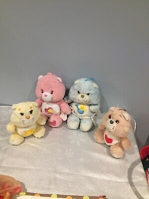 Vintage Bundle Of Care Bears 1980's
