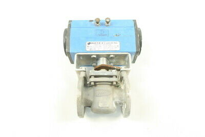 Durco G411 Pneumatic Stainless Flanged Plug Valve 150 1in
