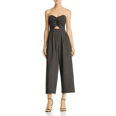 ASTR the Label Womens Mara Strapless Wide Leg Night Out Jumpsuit BHFO 2248