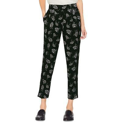 Vince Camuto Womens Printed High Rise Everyday Ankle Pants BHFO 3011