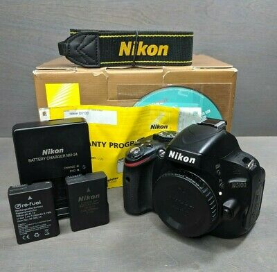 Nikon D5100 16.2MP Digital SLR Camera - Black (Body Only)