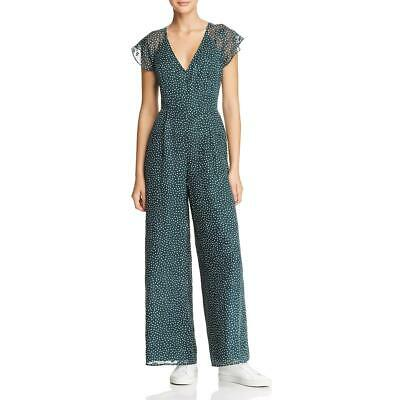 Sage The Label Womens Layla Wide-Leg Polka Dot Day to Night Jumpsuit BHFO 5121