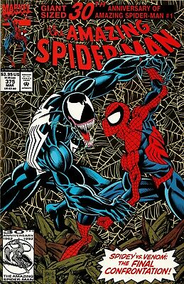 AMAZING SPIDER-MAN #375 1st APP ANNE WEYING (SHE-VENOM) NM- (PRIORITY & FREE INS