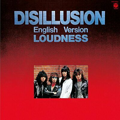 Loudness-Disillusion English Version-Japan Cd C94 Jp