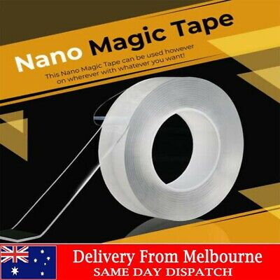 Reusable Magic Nano Tape Thickness Double-Side Traceless Clear Reinforce 40mm*3M