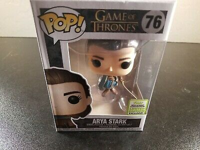 Funko POP! Game of Thrones 76 Arya Stark 2019 ECCC  (AUTHENTIC CONVENTION EXCL)