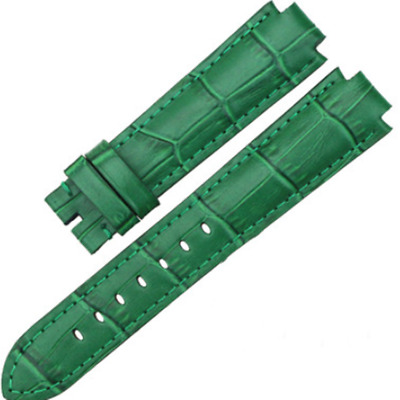 Replacement Watch Strap Band Green For LV Louis Vuitton Tambour Series