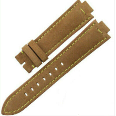 Replacement Watch Strap Band Brown For LV Louis Vuitton Tambour Series