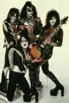"KISS Rock Band Destroyer Era ""White Room"" Reproduction 24 x 36 Inch Poster Gift"