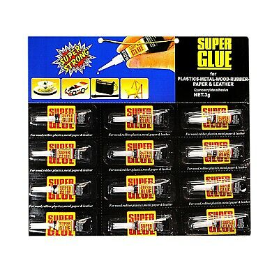 3g Extra Strong Super Glue Wood Plastic Metal Leather Glass Adhesive Superglue