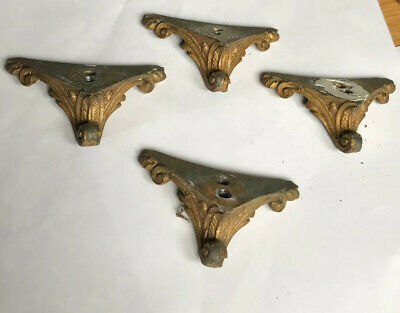 Antique Mantle, French Ormolu Clock  Bracket Clock Feet