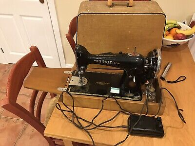 Semi-Industrial Singer 201K Sewing Machine - Spares and Repairs but w PAT test