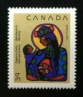 Canada #1294 MNH, Christmas Native Nativity Stamp 1990