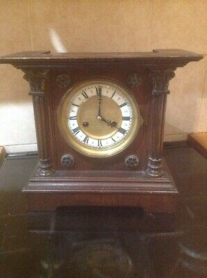 HAC 14 Day Striking Architectural Table Clock