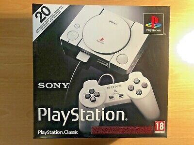 OFFICIAL Sony PlayStation PS Classic Console Free 20 Games -EXCELLENT condition!