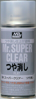 Gunze 514 Mr. Super Clear Flat 170ml Spray